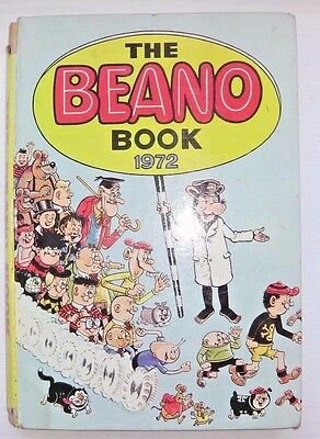 The Beano Book 1972 - Vintage Hardback Annual