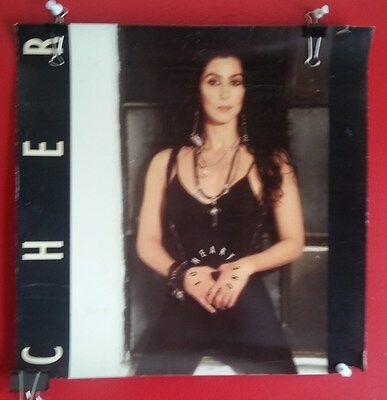 CHER HEART OF STONE Promo 2-sided Poster Music Goddess Gay Icon