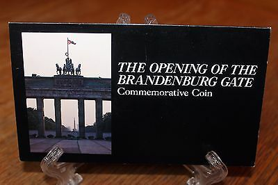 The Opening of the Brandenburg Gate Commemorative Coin Uncirculated