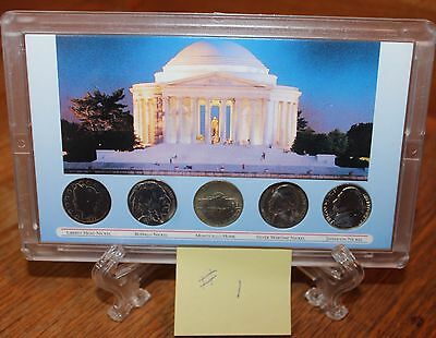 1 American's Nickels of the 20 Century Coin Set Comes in Sealed Case