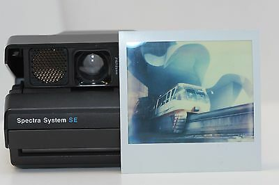 Polaroid spectra SE Tested Working instant film camera, manual controls,