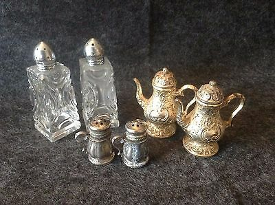 Vintage Salt and Pepper Shakers, lot of 3