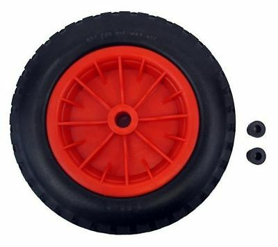 "16"" Replacement Puncture Proof Wheelbarrow Wheel Choose Bore Size 4.80/4.00-8"