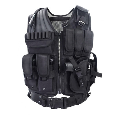 YAKEDA Army fans Tactical Vest CS Field Outdoor Equipment Supplies Breathable li