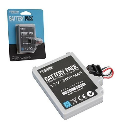 KMD Rechargeable Internal Controller Pack Battery-Gray, Wii U