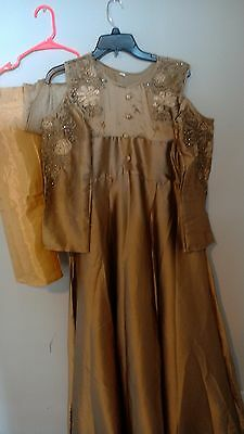 Indian Pakistani Bollywood Ethnic Suit stitched  Designer Salwar suit XXL new