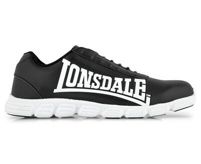 Lonsdale Men's Arcadia Shoe - Black/White