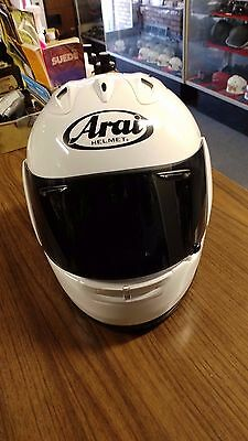 "Aria Helmet Medium  7- 7 1/8"" head size RX-7 IV. Was Build On 11/19 Xtra Visor"