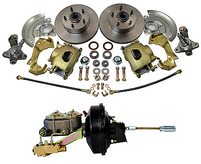 1964-1972 GM A,F,X Body Disc Brake Kit Stock Height Camaro, Chevelle, Nova, GTO