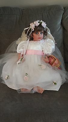 "Fayzah Spanos Heavenly Rose Petals 26"" doll"