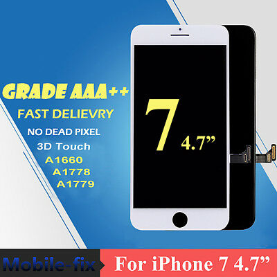 """For iPhone7 4.7"""" A1660 A1778 A1779 LCD 3D Touch Screen Digitizer Replacement US"""