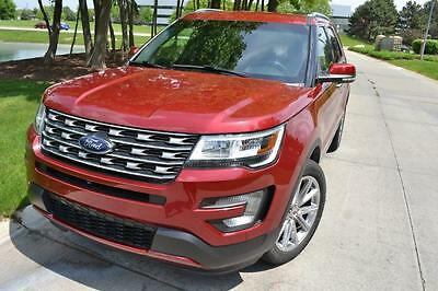 2016 Ford Explorer  2016 Ford Explorer LIMITED Utility 4-Door 3.5L heated power Leather seats