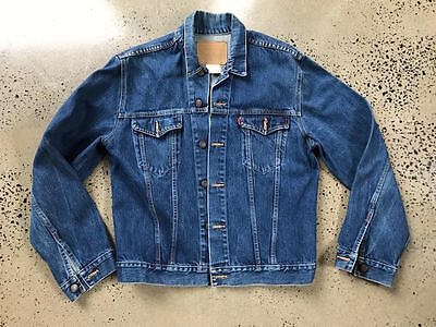 VINTAGE LEVI'S DENIM JACKET MENS SIZE XXL Excellent Used Condition