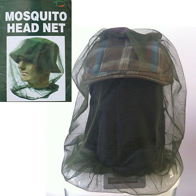 Camping Mosquito Fly Insect Head Net For Hats Insects Bee Protections Repellent
