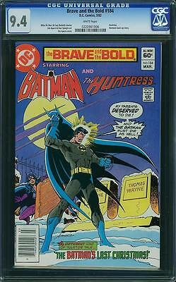 BRAVE AND THE BOLD #184 cgc 9.4 batman