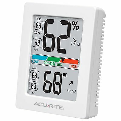 AcuRite 01083M Professional Accuracy Humidity & Temperature Monitor Thermometer
