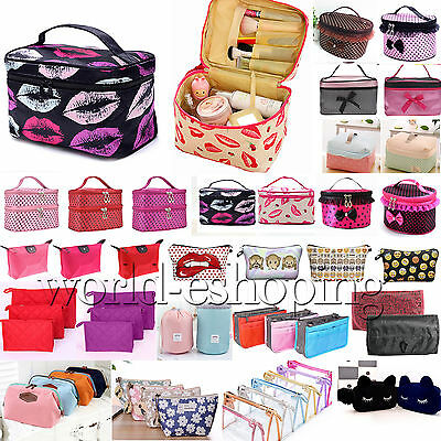 Large Cosmetic Make Up Storage Toiletry Bags Case Wash Holder Organizer Handbags