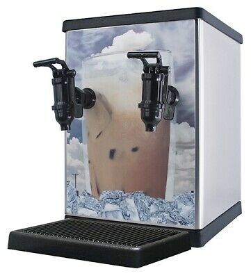 Newco 803375 925 Post Mix Concentrate Tea Dispenser - 2 Faucet, Electric Pump
