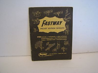 FASTWAY FASTENERS  POCKET EDITION CATALOG   w SELECTOR GUIDE ( BACK COVER )