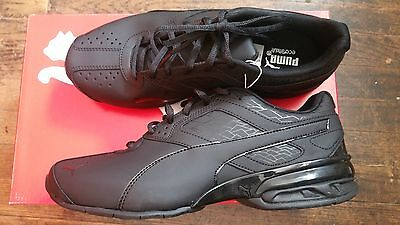 37bd0c12bb87ee PUMA TAZON 6 FM 18987303 Black Synthetic Leather Running Shoes (D