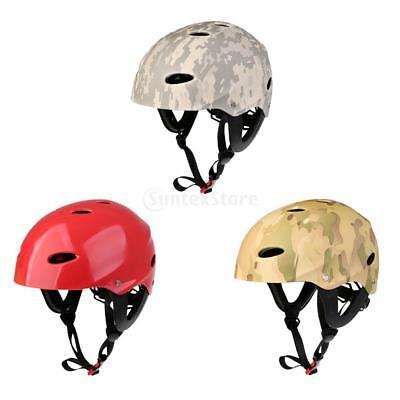 MagiDeal Water Sports Safety Helmet Kayak Boat Surf Rescue Hard Cap CE Approved