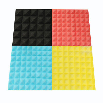 45x45x5.5cm Acoustic Soundproof Sound Stop Absorption Pyramid Studio Foam Sponge