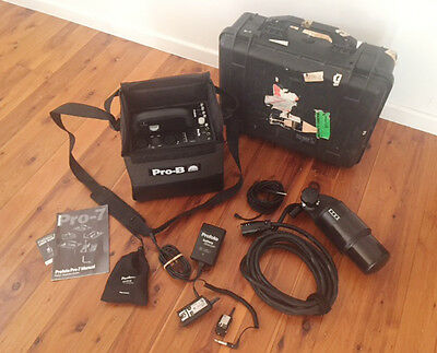 Profoto Pro-7B 1200Ws Portable Flash Outfit.