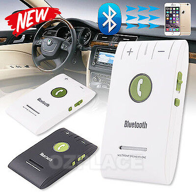 Speaker Music Handsfree Car Bluetooth Kit V4 For Samsung S8 iPhone 6 6S 7 Plus