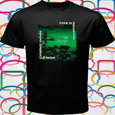 Type O Negative World Coming Down Men's Black T-Shirt Size S to 3XL