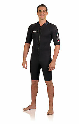 Mares Mens Dive Wetsuit Rover Shorty 3mm Neoprene Freediving Scuba Diving 412588