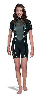 Mares Womens Reef Shorty She Dives Wetsuit Freediving Scuba Watersports 412523
