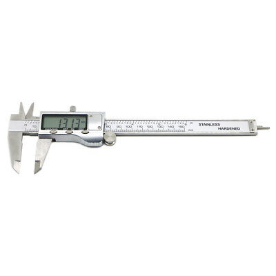 "150mm 6"" Stainless Steel LCD Digital Vernier Electronic Caliper Micrometer Guage"
