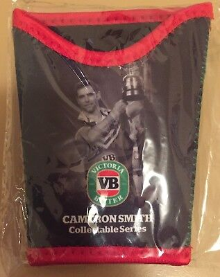 NRL Cameron Smith Melbourne Storm Collectable Stubby Holder Victoria Bitter