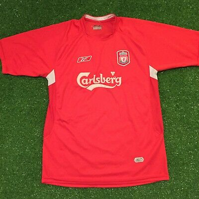 Vintage Liverpool Football Club 2004-2006 Home Jersey Shirt Reebok Soccer Large