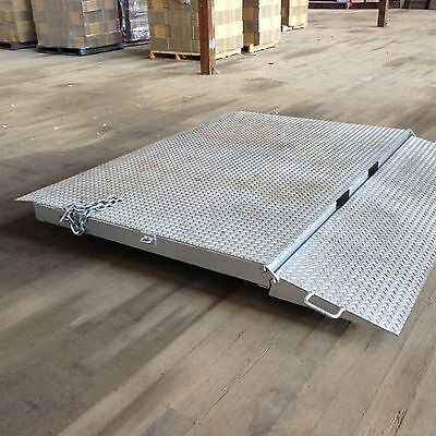 Forkable shipping container ramp