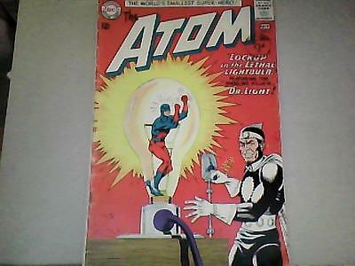 THE ATOM   No 8  (Ray Palmer) 2nd Appearance Dr Light  1963 Bagged/Boarded