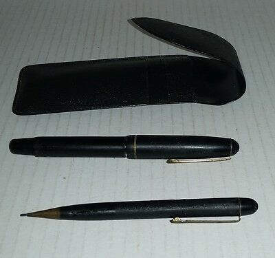 Vintage pen set Made in Germany fountain pen & propelling pencil