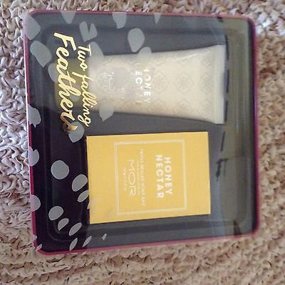 Mor Two Falling Feathers Gift Pack BNIB Soap/hand Cream  Gift?