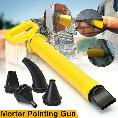 5 Nozzle Mortar Pointing Grouting Gun Sprayer Applicator Tool for Cement lime