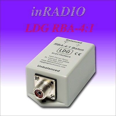 LDG RBA- 4:1 - HF 1.8 to 30MHz 200W Waterproof 4:1 Voltage Balun