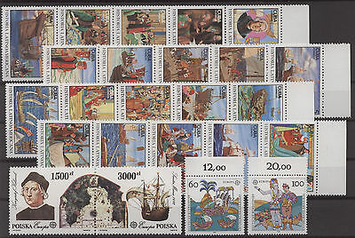 Schiffe, Ships, Kolumbus - LOT ** MNH 1992