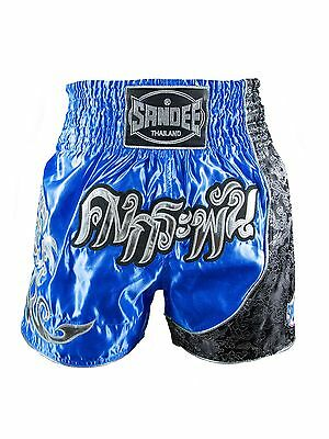 Sandee Unbreakable Thai Shorts Royal Blue Muay Thai Kickboxing Striking K1