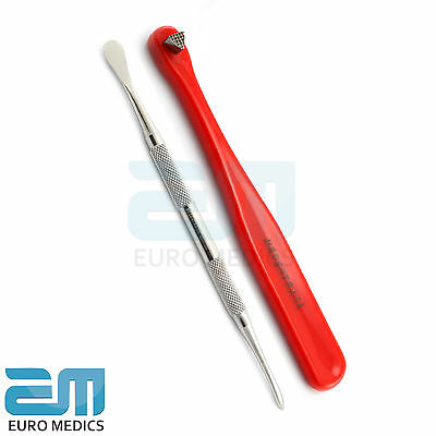 Set Of 2 Dental Periosteal Molt 9 Dentist Periosteal Elevator Red Bite Stick NEW