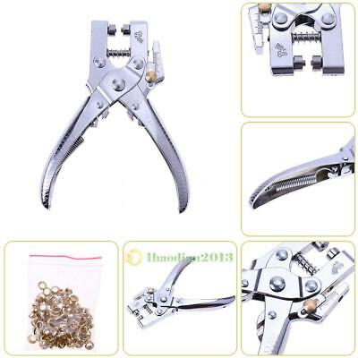 Universal Hole Punch Plier Tool Eyelet Pliers Leather Strap Watch Band Belt Tool