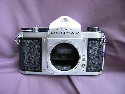 GWO Pentax S1 M42 Body +  Orig. Brown Leather Case & Straps
