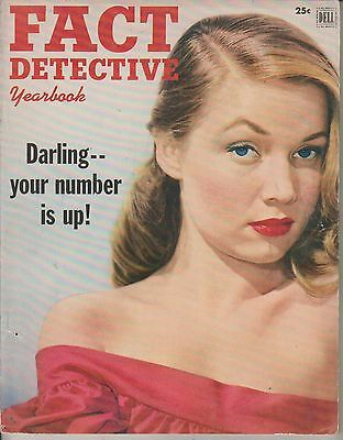 Fact Detective Yearbook      1952      No 8   Dell Publishing