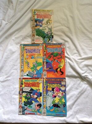 Hanna Barbera's Dynomutt Issues 2,3,4,5,6