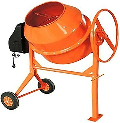 180 Litre Pro 240V 800W Portable Electric Concrete Cement Mixer Mortar Plaster