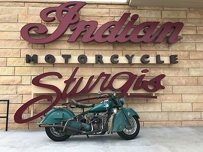 1946 Indian Chief FULL Nut & Bolt Rebuild with Patina  1946 Indian Chief Complete Nut & Bolt Rebuild Barn Fresh Vintage **STURGIS**