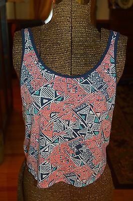 Aeropostale Tank top blouse Tribal Print